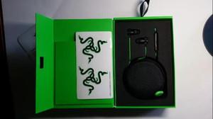 Razer Hammerhead Pro V2 أذن في سماعة أذن مع ميكروفون مع صندوق البيع بالتجزئة في سماعات أذن للألعاب وصول جديد
