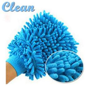 Guanti da asciugamano da spolverino in tessuto per pulizia della casa di lavaggio della finestra in microfibra Super Mitt