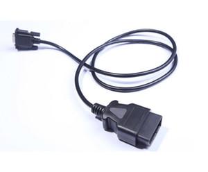 OBD2 케이블 16PIN DB 9PIN 직렬 RS232 OBD II DB9에 16P 무료 배송 Epackage로