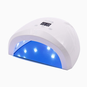 Sunone س 24W الأظافر الفنية LED مصباح الأشعة فوق البنفسجية مسمار مجفف للأشعة فوق البنفسجية LED آلة جل