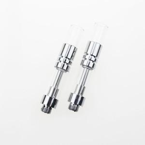 O mais quente cartucho de cartucho de vidro A3 vaporizador de óleo bud O caneta vape stylus atomizador de óleo 510 cartuchos de vidro com ponta de vidro