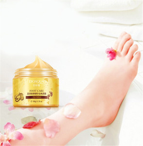 Hot Sale BIOAQUA 24K GOLD Shea Buttermassage Cream Peeling Renewal Mask Baby Foot Skin Smooth Care Cream Exfoliating Foot Mask