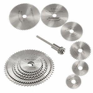 7 stücke Mini HSS Kreissägeblatt Drehwerkzeug Für Dremel Metall Cutter Elektrowerkzeug Set Holz Trennscheiben Bohrer Holzbearbeitungswerkzeug