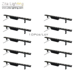 10 pcs/Lot Zita Lighting LED Bar Wash 14X5W CREE Wall Washer Stage Beam Lighting Outdoor Pixel PAR Lights DMX512 DJ Tower Building Effect