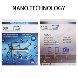 새로운 도착 NANO Tech Liquid Screen Protector 모든 보이지 않는 방패 iPhone X Xs max Umi 1ml 2ml