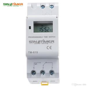 Sinotimer ماركة الحواسيب الصغيرة الإلكترونية برمجة الرقمية توقيت التبديل تحكم التتابع 110/220 فولت ac 16a din السكك الحديدية جبل hot + tb