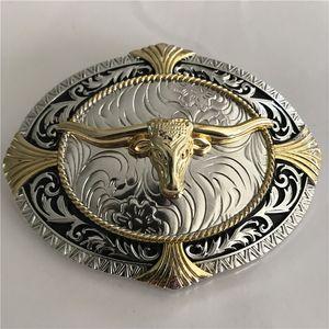 1 قطع 3d الدانتيل الذهب الثور رئيس الغربية كاوبوي حزام مشبك للرجال hebillas cinturon الجينز حزام رئيس صالح 4 سنتيمتر واسعة حزام