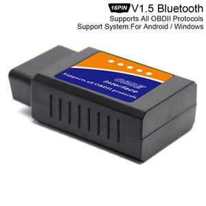 ELM327 V1.5 Super Mini Bluetooth Scanner واجهة لاسلكية القراء التلقائي واجهة القراء أداة تشخيص بروتوكولات OBDII CDT_00J