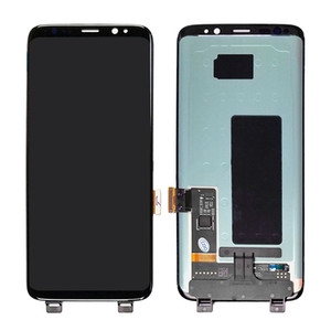 Display LCD per Samsung Galaxy S8 G950 con touch digitizer assembly nero Consegna DHL gratuita s8
