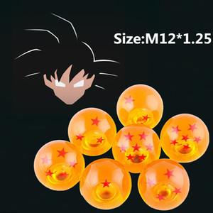 Spedizione Gratuita M12 * 1.25 Gear SHIFT KNOB DRAGONBALL Z DRAGON BALL ambra drago Car Shift Manopole