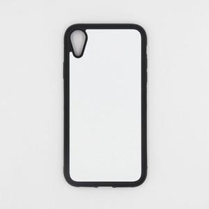 Per Iphone 11 Pro / XS max / Xr / 8/7/6 Plus TPU + PC di gomma morbida 2D sublimazione Bianco Per caso della copertura di trasferimento Samsung S10 / S20 più calore Phone