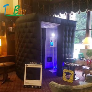 Cabine inflável da foto do casamento da cabine da foto do diodo emissor de luz do envio livre feito sob encomenda para a venda