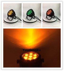 6 pièces par led 7x12w rgbw led uplight extérieur led stage light par 64