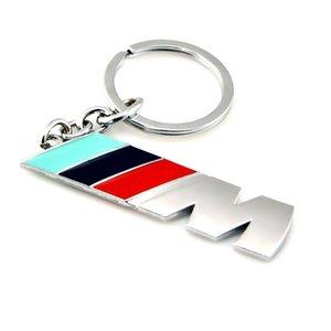 M M3 M5 Metal Car Logo key ring keyring keychain key chain KeyHolder Car Styling for BMW M Series 1 3 5 X X1 X3 X5 E3 E5 Z4
