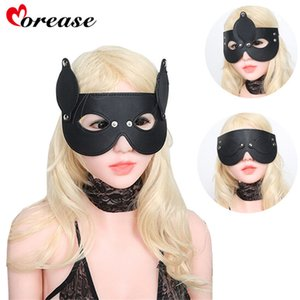Patch PU Bondage Sexy Products Mask Toy Blindfold Couples Leather Adult Flirt S924 Sex Morease Sleep Sex Eye Bdsm For Eyes Games Igohq
