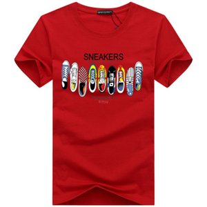 Tshirt Mens T Shirts Top Quality New Fashion Tide Shoes Printed Men Tshirt Tee Shirts Tops Men T-shirt Multiple Color S-5XL0