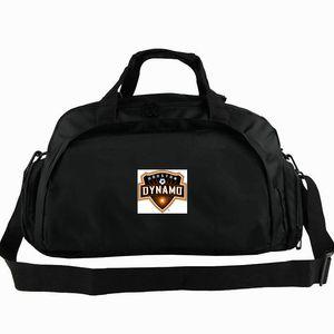 Dynamo Houston sac polochon fourre-tout orange sac à dos Crush le club de football de football épaule insigne bagages Sport duffle Pack fronde extérieure