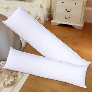 Long Pillow Inner White Body Cushion Pad Anime Rectangle Sleep Nap Pillow Home Bedroom Bedding Accessories 150 x 50CM 40