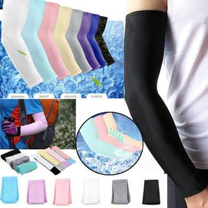Mangas de refrigeración Hicool Unisex Sports Sun Block Manguitos de protección contra UV UV Manguito de refrigeración Sleeve Sleeve Sleeve Covers 2pcs / pair mk608