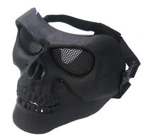 M02 masque de pistolet à eau réel CS masque de champ de protection tactique armée ventilateur équipement cendres argent masque