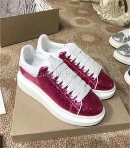 2018 Paillettes Mens Womens Comfort Casual Dress Shoe Glitter scarpe da ginnastica in pelle formale Mens Daily Lifestyle Casual Classic Scarpe da donna