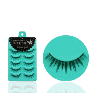 5 Pairs Set New Fashion Women Soft Natural Long Fake Eye Lashes Handmade Thick False Eyelashes Beauty Makeup Tools