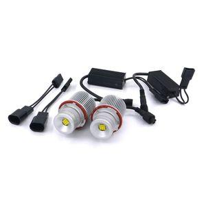 Sem erros 2X27 W 9LED Anjo Olhos LED Marcador de Luz Para BMW E39, E60, E61, E63, E83, X3, X5 E87 525i M5 E53 E66