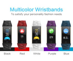 SmartBand T20 pression artérielle fréquence cardiaque Couleur du sang en oxygène poignet intelligent Fitness Bracelet Sports Tracker Podomètre