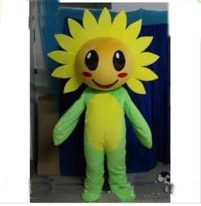 2018 Factory sale hot EVA Material Helmet sunflower Cartoon Mascot Costume Clothing Character Mascot Party Dress Event EMS Free Shipping