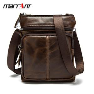 WESTAL Messenger Bag Men Bolso bandolera Genuine Leather Small male man Bolsos bandolera para Messenger men Bolsos de piel Bolsos M701