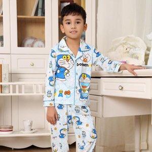 Syue Lua Meninas Conjuntos de Pijama Crianças Gola Pijama Pijama Crianças Confortáveis Sleepwear Adolescente Menino Homewear Roupa De Dormir