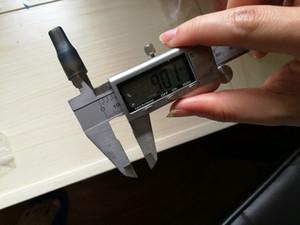 Silikon Flache Mundstückabdeckung Gummi Tropfspitze Silikon Einweg Testspitzen Tester Kappe 9mm Durchmesser für Ploom Tech IQOS Vaporizer