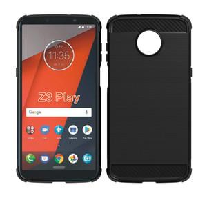 1.3mm de fibra de carbono escovado silicone case fino macio para iphone x 7 8 plus moto z3 jogar z3 2018 e4 mais gionee s11 htc u11 vida desejo 12