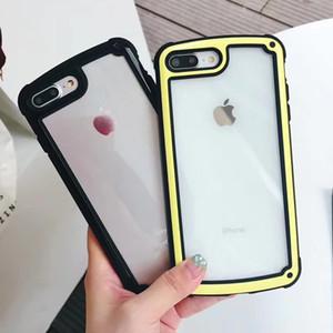 Pour Samsung S9 S9plus S8 S8plus Root Go Étui en verre trempé anti-chute pour iPhone 6 6 plus 7 7plus 8 8plus Hot Phone Case multicolore