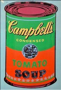 ANDY WARHOL La sopa de tomate de Campbell se puede pintar a mano HD Arte Pop pintura al óleo arte de la pared decoración del hogar en la lona de alta calidad Multi Sizeg209