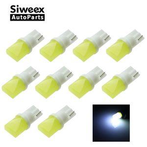 T10 3d LED W5W Beyaz Işıklar Araba Yan yön göstergesi Plaka lambası Kapı Harita Festoon Dome Lamba Ampuller DC 12 V