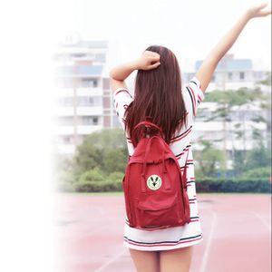 Venta al por mayor de alta calidad bolsa de material de lona bolsos de marca hombres y mujeres mochila niños mochilas escolares múltiples colores opcionales