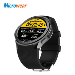 wholesale L1 Sports Smart Watch GPS 1.3'' MTK2503 2G Wifi Camera Call TF Card Heart Rate Smartwatch men For Android IOS Phone