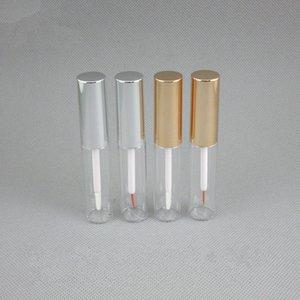 Recipiente cosmético vazio do Eyeliner 8ml, frasco líquido do crescimento profissional das pestanas da beleza, tubo plástico F1147 do brilho do bordo da composição
