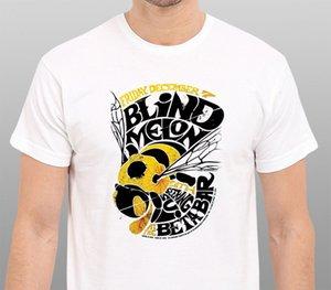 Concerto Melon Blind Vintage Tour T-shirt Tamanho: S-To-3xl Design T Shirt dos homens de Alta Qualidade Jogo Camisa Top Tee