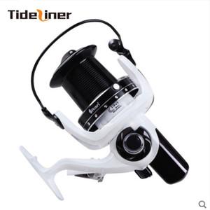Tideliner 7000 10000 spinning fishing feeder carpa rapporto di pesca alla carpa 5.2: 1 4.1: 1 cuscinetti 15 + 1BB grande ruota da pesca bianca