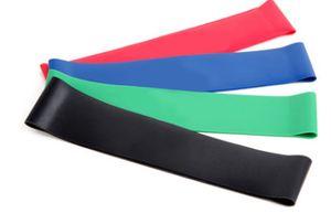 2018 nova faixa de resistência direta da fábrica fita de látex yoga círculo anel de tensão de resistência de fitness banda resistência ao látex