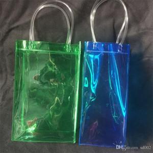 Bolsa de Hielo Plástica Botella Individual Sellado Automático Bolsas Transparentes Bolsa de Bebidas Contenedor de Alimentos Con Comida Artículos de Cocina 2 23lx jj