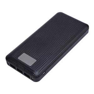 (Без батареи) 7x18650 DIY портативный аккумулятор Power Bank Shell Case Box цифровой ЖК-дисплей двойной USB Powerbank Protector Case Cover