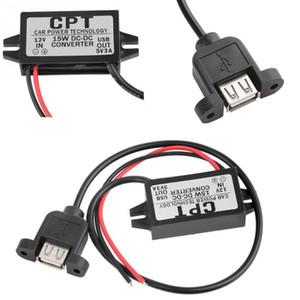 cpt автомобильное зарядное устройство мужской конвертер CPT мощность автомобиля понижающий регулятор неизолированный бак модуль преобразователь питания DC 12 в 5 в 3A 15 Вт USB DC-DC