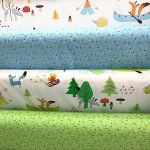 Printed  Cotton Twill Fabric Baby Quilting by half meter for DIY Sewing Patchwork fabric sheet