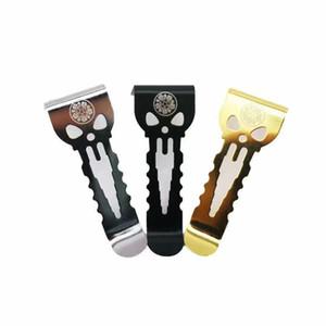 Clips de ceinture vape originaux dignes de tous les appareils à vape Acier inoxydable solide et robuste NOUVEAU crochet VAPE HELPER Emballage individuel de haute qualité