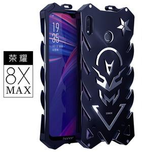 Custodia Thor in alluminio con armatura potente per Huawei Honor 8X Max Cover Case Flash Iron Man Custodie protettive in pelle