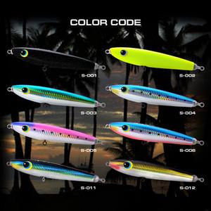 High End Series Sinking Pencil Popper Richiamo di pesca FEIYU 170S 170mm / 100g Handmade naturale di legno duro integrato esca attrezzatura da pesca