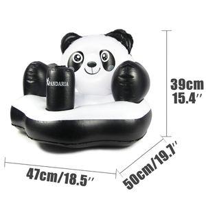DMAR Inflável Float Panda Brinquedos Anel de Natação para Crianças Assento Do Banho Do Bebê Colchão de Chuveiro Círculo de Natação Água Brinquedos de Banho